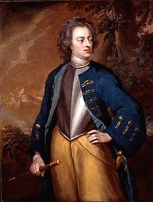 Carol XII pictură de Michael Dahl (1714)