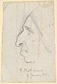 Portrait of George Eliot, seen in profile to the left MET DP829447.jpg