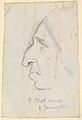 Portrait of George Eliot, seen in profile to the left MET DP829447.jpg