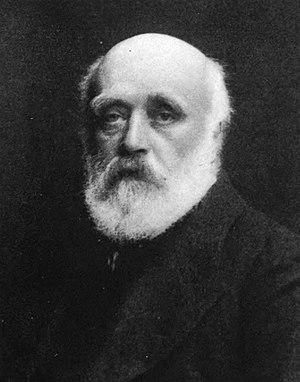 John Lockwood Kipling - Portrait of J. Lockwood Kipling, by Hollinger.