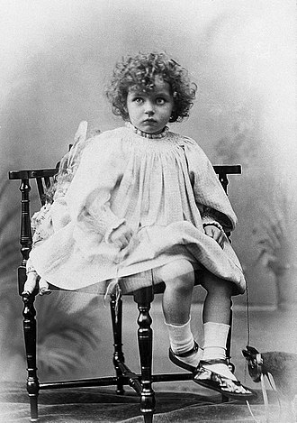 History of Medicine Society - Norah Schuster as a child
