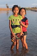 Portrait of two girls feet in the Mekong.jpg