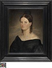Portret van Colette Dumery