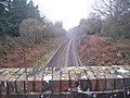 Portsmouth to London railway from bridge near Rake - geograph.org.uk - 300463.jpg