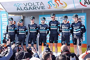 Portugal - Algarve - Lagos - 2016 Volta ao Algarve - Sky Cycle team (25168262603).jpg