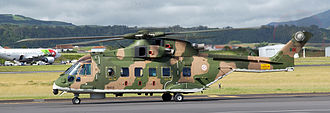 751 Squadron (Portugal) - Merlin in the colors of the Portuguese Air Force