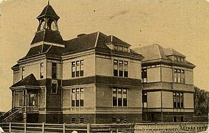 Buckley, Washington - Buckley High School, about 1912