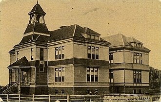 Buckley, Washington - Buckley High School, about 1912