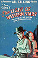 Poster - Light of Western Stars, The (1930) 01.jpg