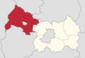 Powiat legnicki - lokalizacja gminy wiejskiej Chojnów.png