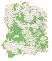 Powiat wołowski location map.png