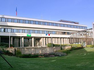 Côtes-d'Armor - The departmental council and prefectural building in Saint-Brieuc