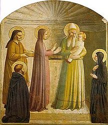 Fra Angelico: Presentation at the Temple
