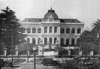 National University of La Plata - Office of the President (NU of LP Archive)