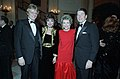 President Ronald Reagan and Nancy Reagan with Joan Collins and Peter Holm.jpg