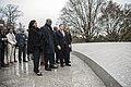 President of the Democratic Republic of the Congo Felix Tshisekedi Visits Arlington National Cemetery (46649521725).jpg