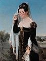Presumed portrait of Adelheid von Anhalt-Bernburg, Duchess of Oldenburg, by German school of 1820.jpg