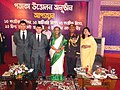 Prime Minister Sheikh Hasina with Mejor Hasan and Family at Ramu Cantonment.jpg