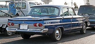 Nissan Gloria - 1966 Prince Gloria Super 6 sedan