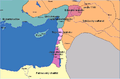 Principality of Antioch under byzantine protection (cs).png