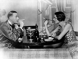 Private Lives - Noël Coward and Gertrude Lawrence in the Broadway production of Private Lives (1931)