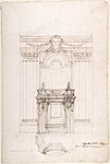 Project for a Chapel in the Church of San Ciriaco, Ancona MET DP801610.jpg