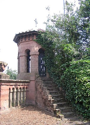 London Road Cemetery - Prospect Tower