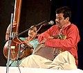 Pt.Santosh Joshi at Kirwani concert.jpg