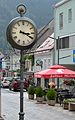 Public clock, Wiener Straße, Mürzzuschlag.jpg