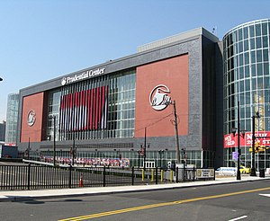 Sports in New Jersey - The Prudential Center in Newark, home of the NHL's New Jersey Devils