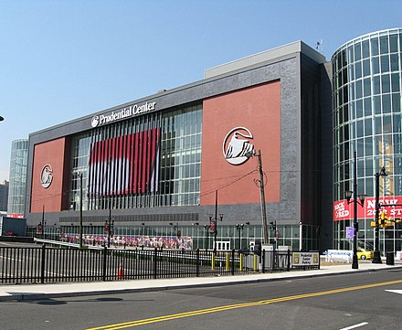 The Prudential Center in Newark, home of the NHL's New Jersey Devils Pudcentnewarkjeh.JPG