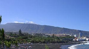 Puerto de la Cruz - Jardín Beach. Puerto de la Cruz