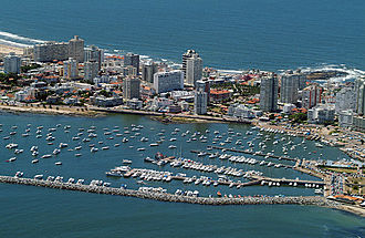 Punta del Este is one of the main tourist destinations in the Southern Cone. Punta del este3.jpg