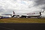 Qatar Cargo, A7-BGB, Boeing 747-83Q F (44235044882).jpg