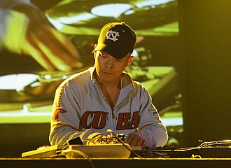 DJ Qbert - At the Nuits Sonores festival in Lyon, France, May 2006
