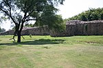 Walls of Lal Kot and Qila Rai Pithora's fort from Sohan Gate to Adam Khan's tomb including the ditch where there is an outer wall