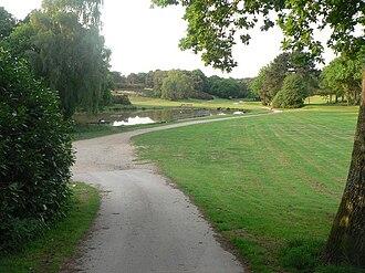 Queen's Park, Bournemouth - Image: Queen's Park, Longman's Bottom geograph.org.uk 798927