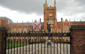 Laganbank (District Electoral Area) - Lanyon Building, Queen's University Belfast