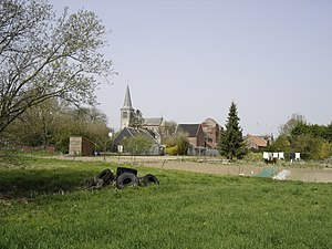 Quiévy - Image: Quievy village