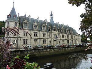 Finistère - Prefecture building of the Finistère department, in Quimper