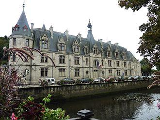 Finistère - Prefecture building of the Finistère department, in Quimper
