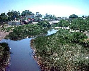 Loa River - Loa River in Calama.