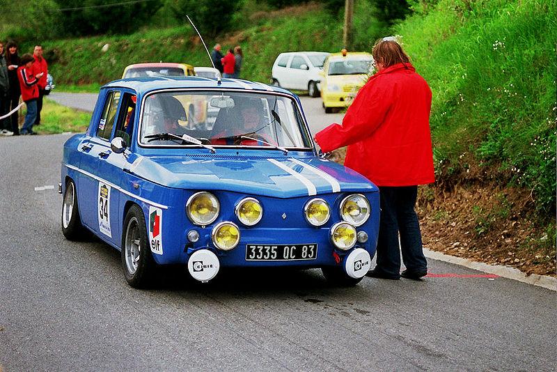 Ficheiro:R8 Gordini Pegomas-Tanneron 2005.jpg