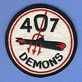 RCAF 407 Demons Sqn Crest Craft patch.JPG