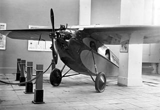 RWD 3 Polish sports aircraft