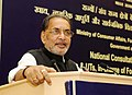 Radha Mohan Singh addressing at the National Consultation Meeting of the Ministers of States & UTs in-charge of Food, Civil Supplies & Consumer Affairs, in New Delhi.jpg