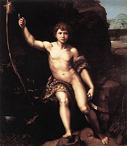 Saint Jean Baptiste (Raphaël) — Wikipédia