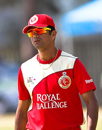 Royal Challengers Bangalore - Rahul Dravid was the team's icon player in 2008.