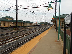 Rahway station - Rahway station in August 2014.