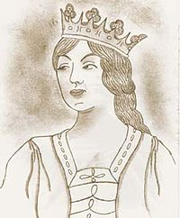Description de l'image Rainha D. Beatriz de Portugal filha Rei D. Fernando I (1).jpg.
